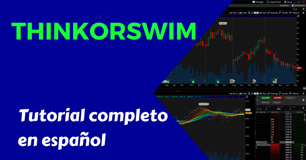 Thinkorswim Tutoriales en Español