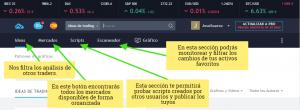 tradingview panel perfil