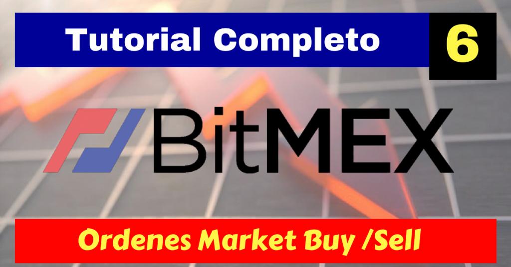 BitMEX tutorial - Market Order compra y venta - Conviertete en un