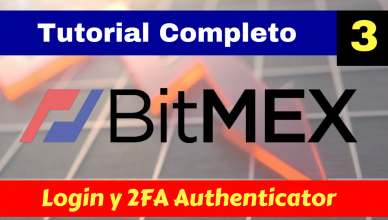 Bitmex login 2FA authenticator