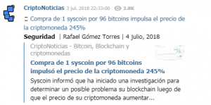 Binance resumen del incidente