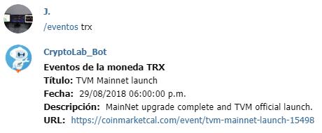 Bot de trading criptomonedas