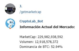 Bot de trading en criptomonedas
