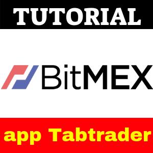 BitMEX app para trading a través de Tabtrader