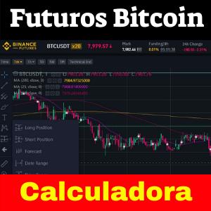 Futuros de Bitcoin calculadora